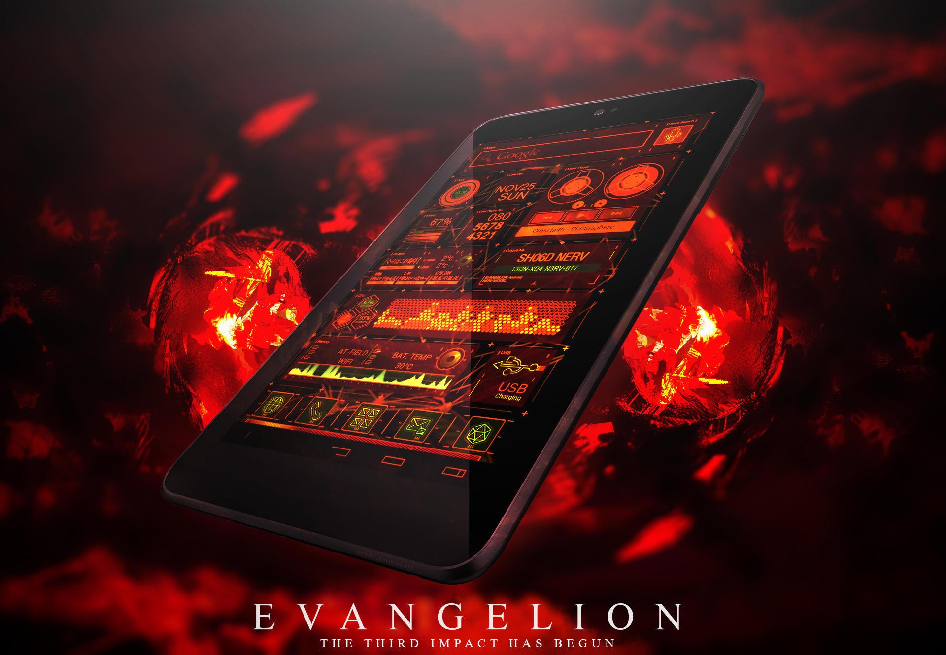Theme Android Evangelion