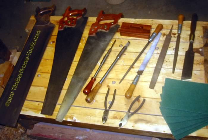 Timber Frame Tools Galoot Gloats About Tools