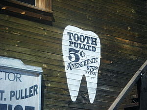 Tooth Pull Humour in Wild West Zone of Port Av...