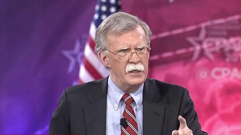 Ο νέος σύμβουλος Εθνικής Ασφάλειας του Λευκού Οίκου, Τζον Μπόλτον. Φωτογραφία C-SPAN, NBC