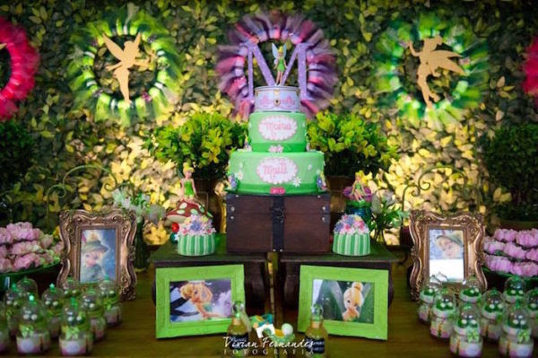 Tinkerbell Fairies Birthday Party Party Ideas Ph