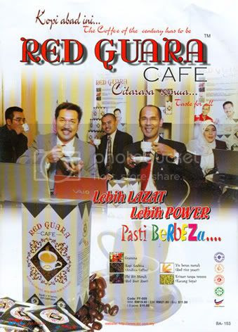 Red Guara Cafe DCL Catalogue