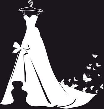 Wedding couple silhouette free vector download (7,375 Free