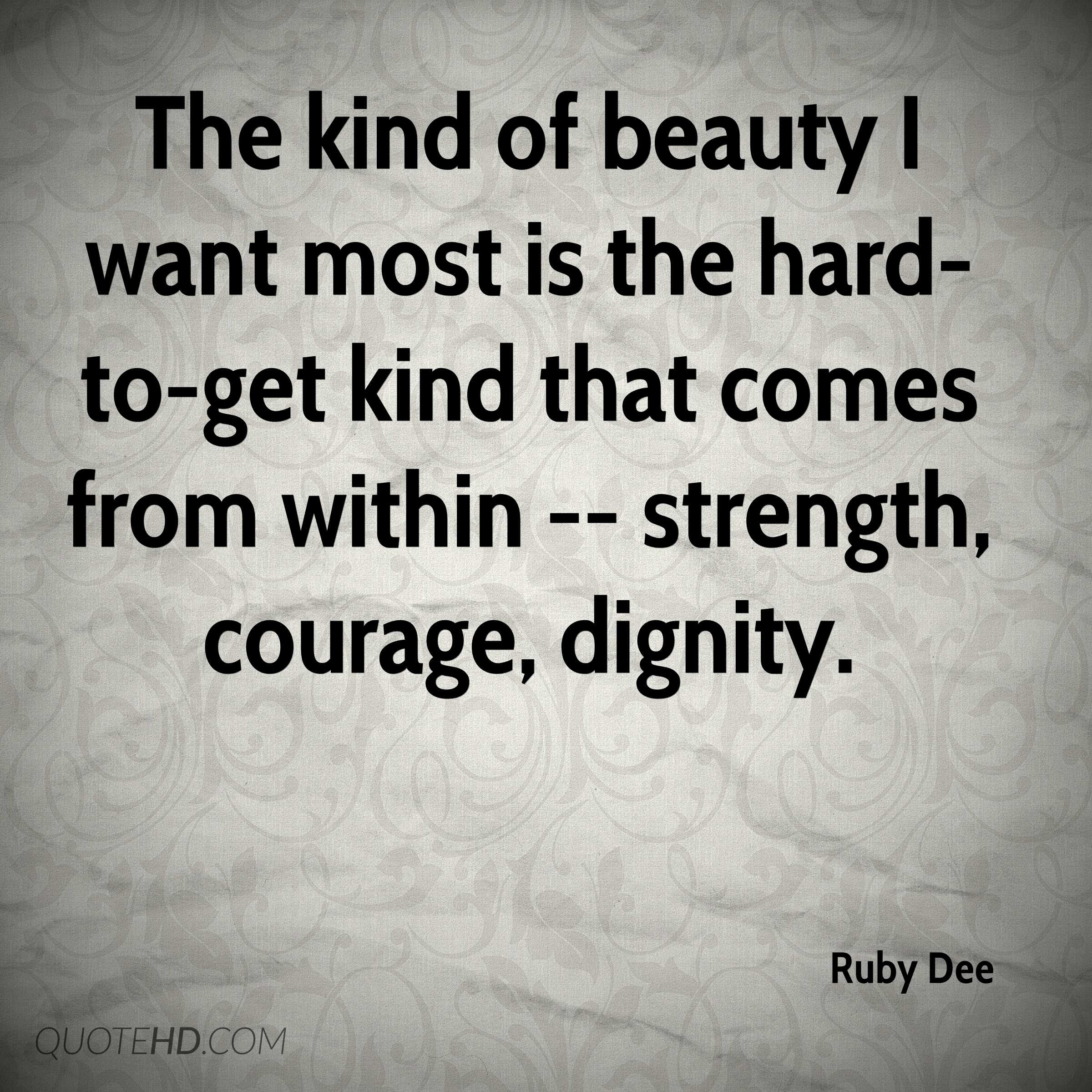 Ruby Dee Quotes Quotehd