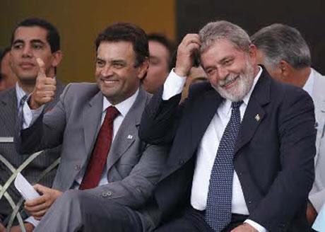 Aecio e Lula