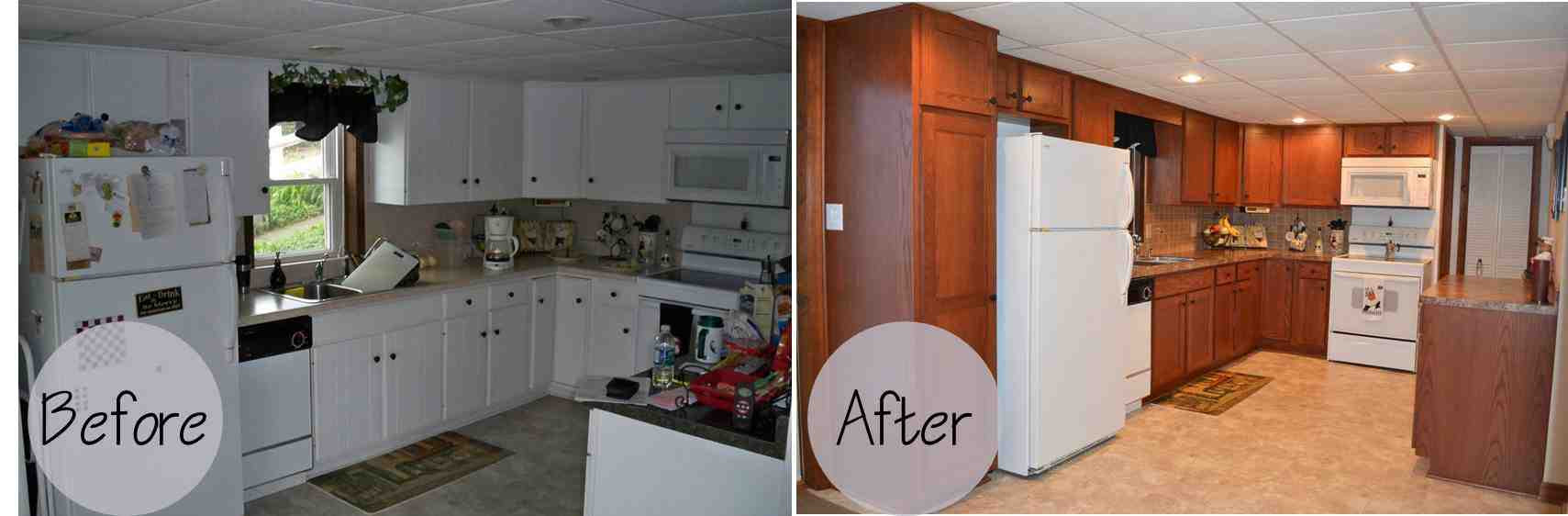 Kitchen Cabinet Refacing Before And After Photos - Decor ...
