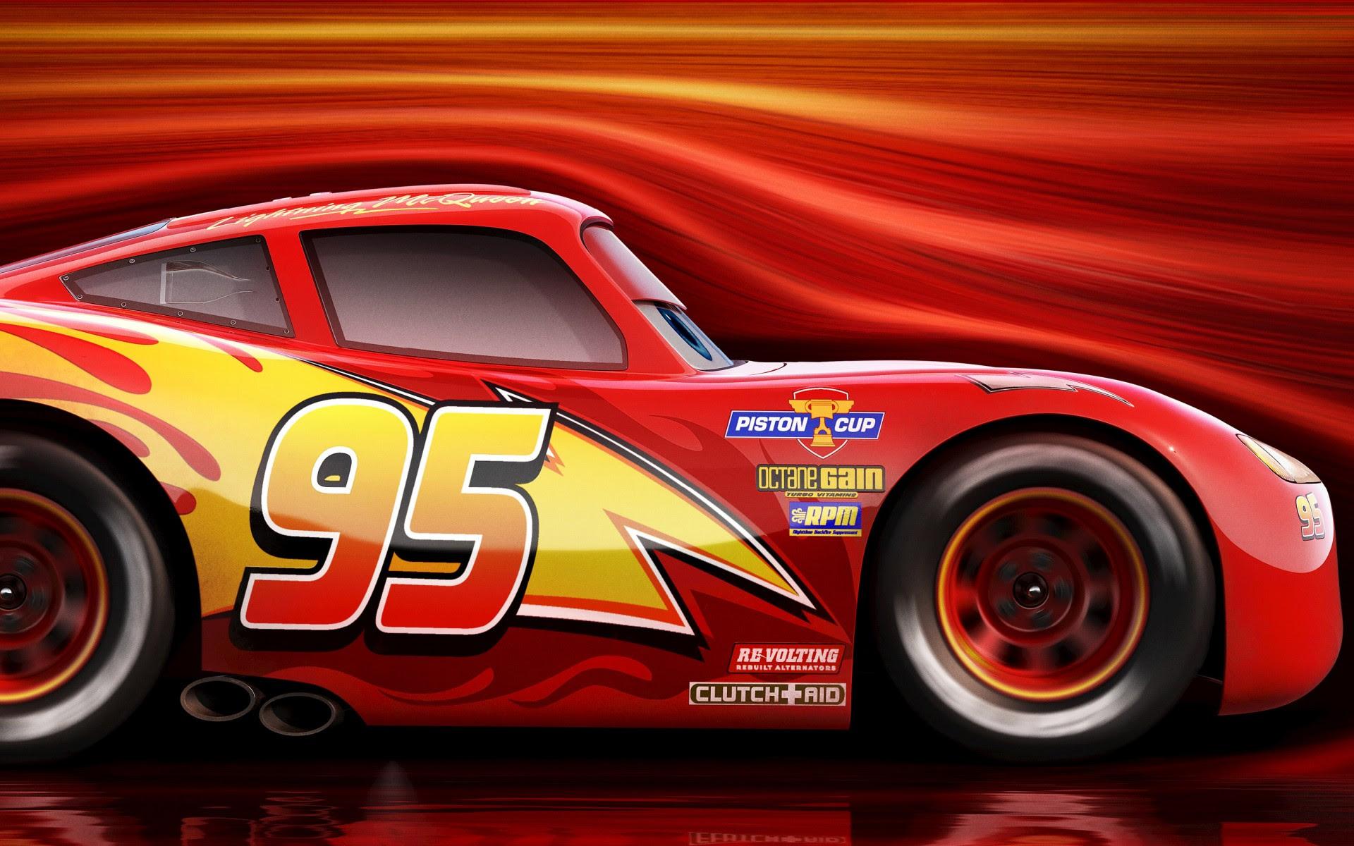 Lightning McQueen Cars 3 4K Wallpapers   HD Wallpapers ...