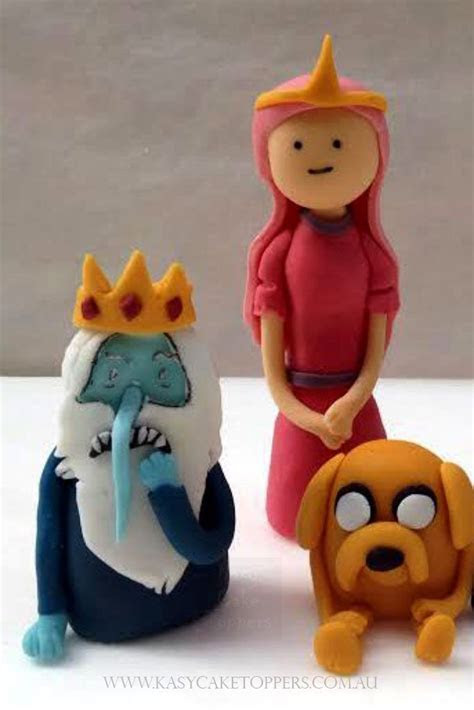 Adventure Time Character Cake Toppers   Kasy Cake Toppers
