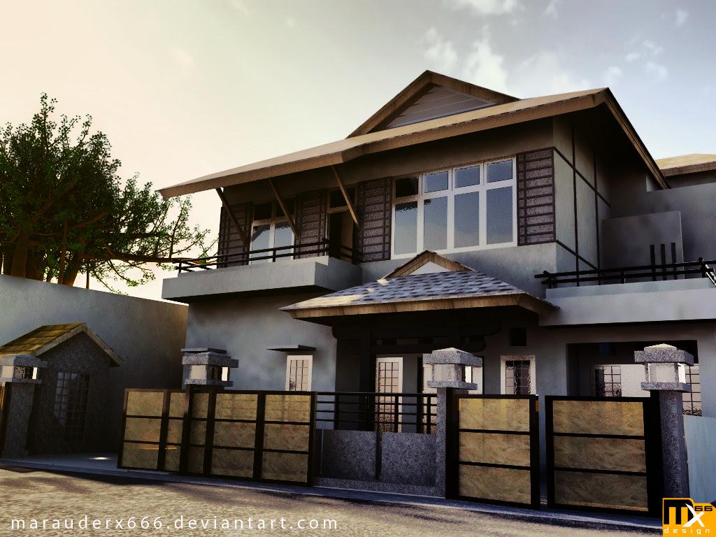 exterior designexterior design ideasinterior designhome interior design: House Exterior - 1920s Art Deco House Art Deco Modern House Design, Design For Modernhouse Mexzhouse.com