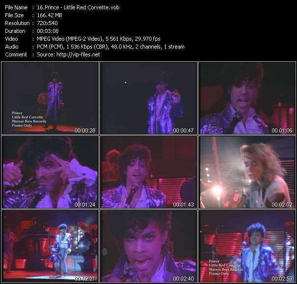 Retro Music Videos Prince Little Red Corvette