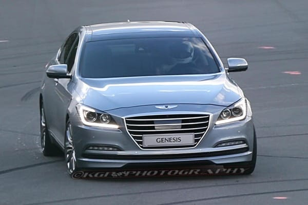 2015 Hyundai Genesis Sedan Spy Photo Picture