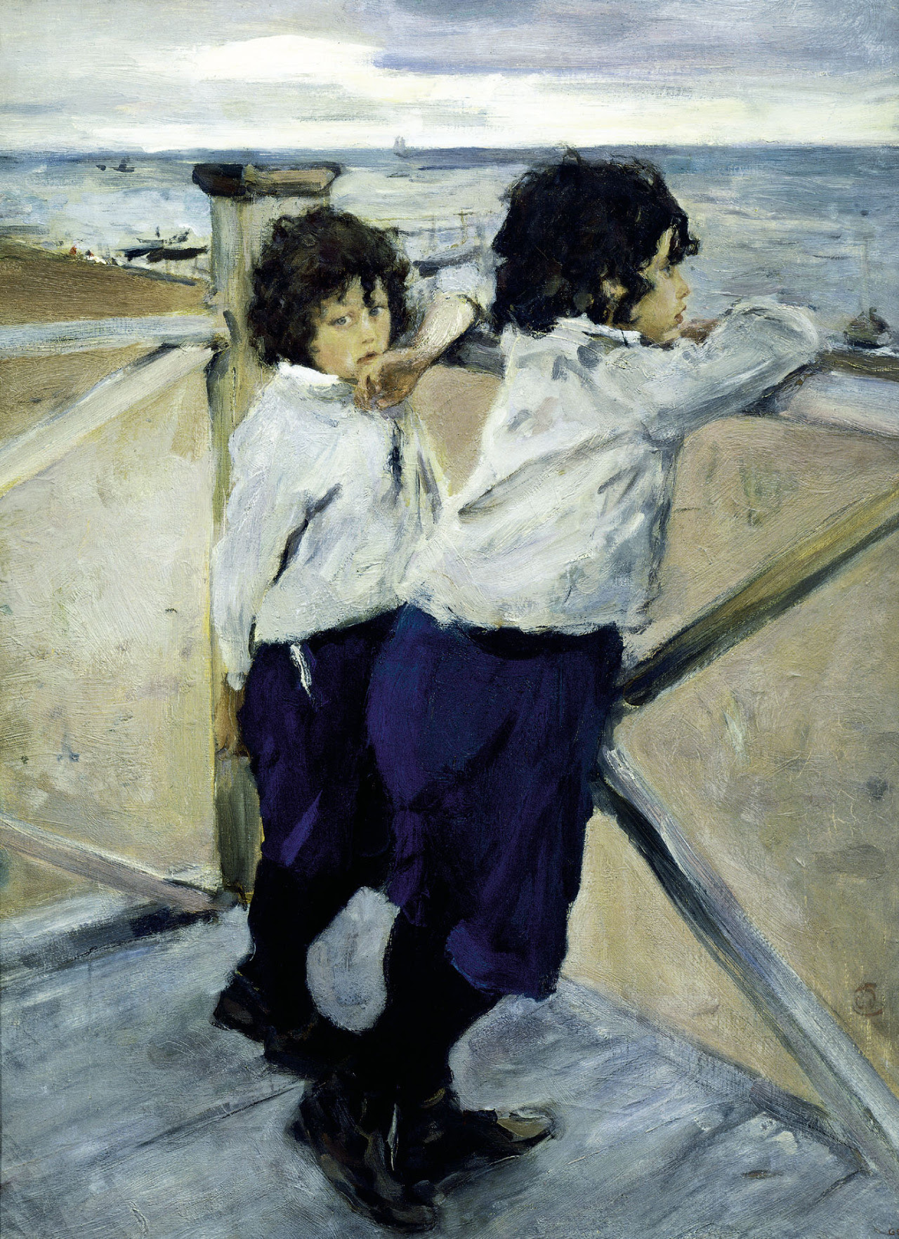 yourtrueface: painting by Valentin Serov