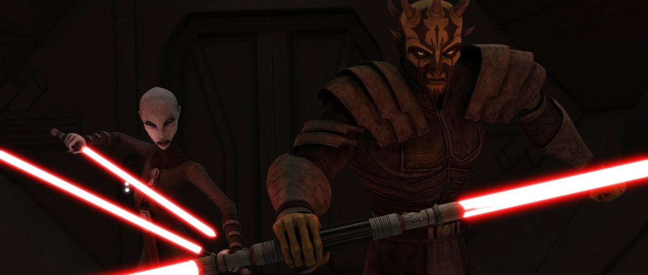 Ventress & Opress Star Wars - The Clone Wars