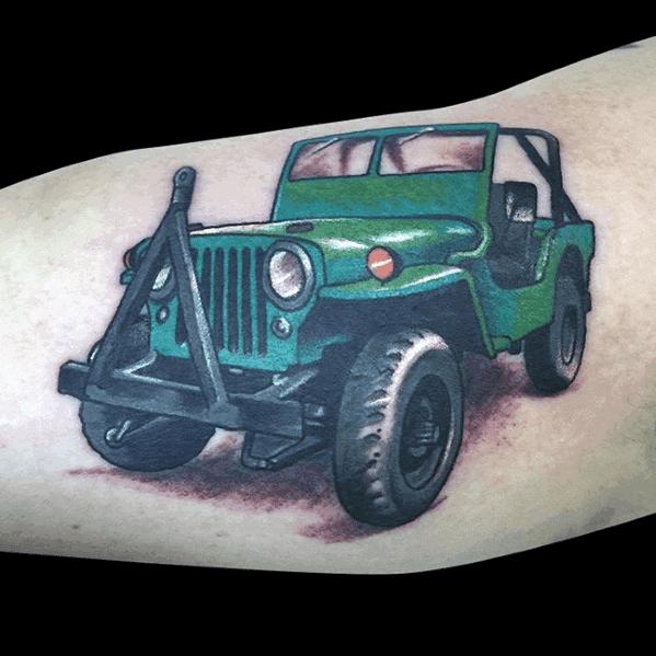 Tatuagens De Jipe Para Homens