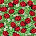 Tecido Importado: ladybugs no jardim - IMP/06