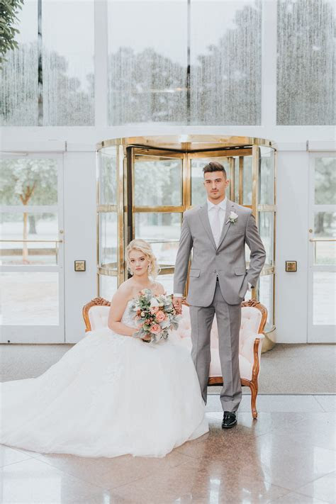 Summer Wedding Inspiration Styled Shoot at the Mint Museum
