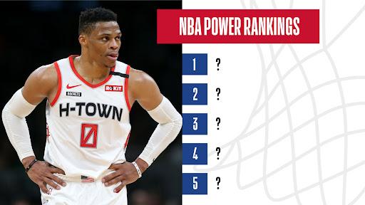 Avatar of NBA Power Rankings: Houston Rockets continue to rise, Utah Jazz, Toronto Raptors take a fall