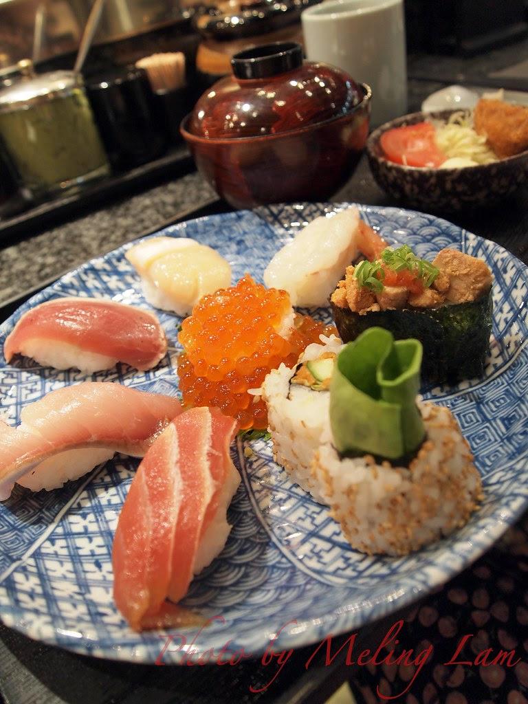千兩 sushi summer cool