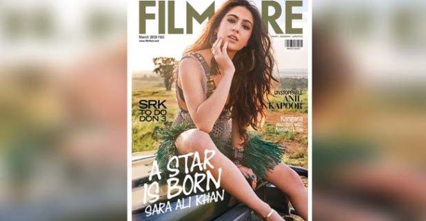 A STAR IS BORN, Sara Ali Khan Sizzles In Her Debut Filmfare Cover Magazine