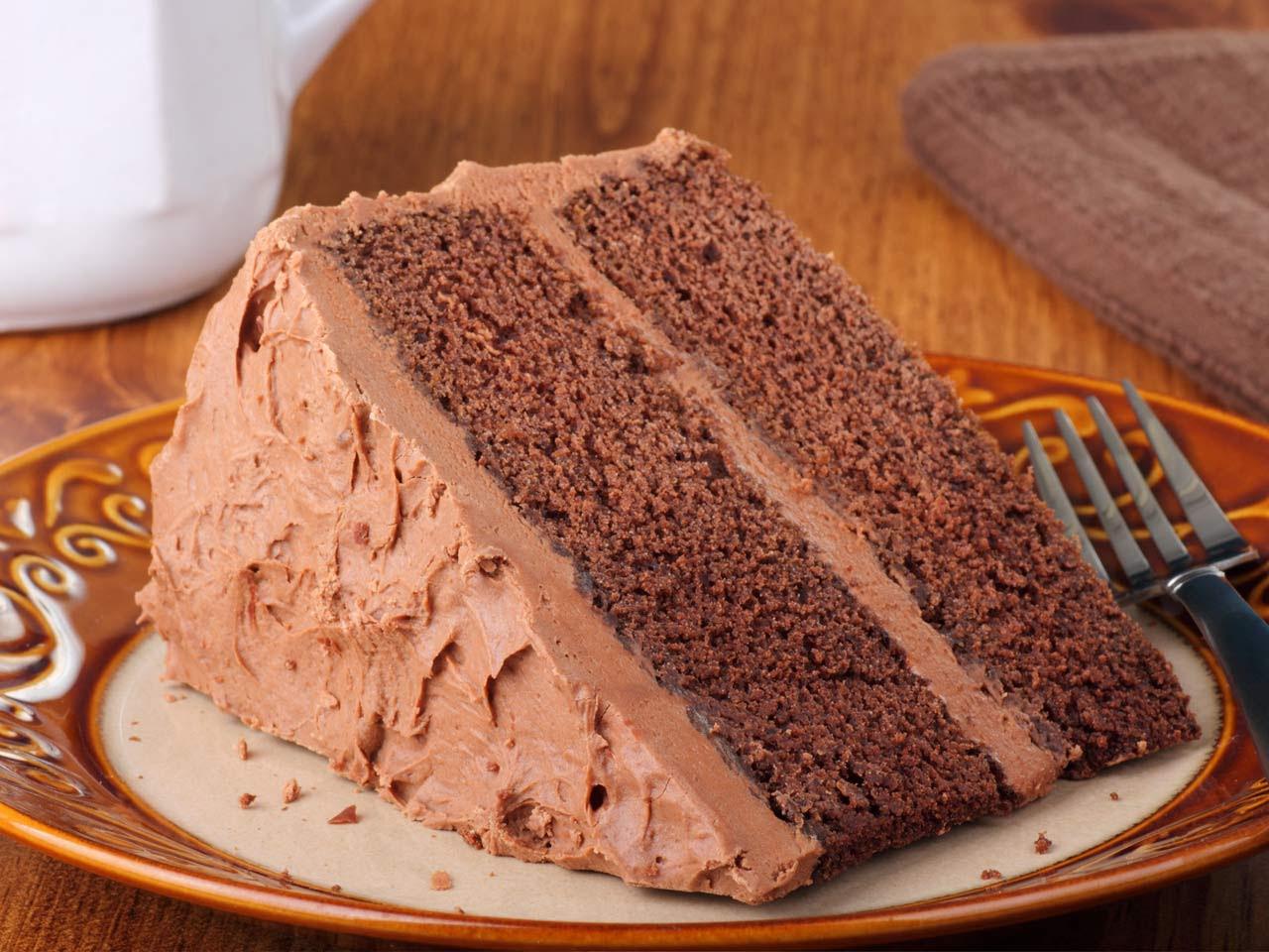 Easy chocolate cake recipe - Saga