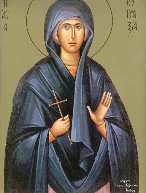 img ST. EUPRAXIA of Tabenna, Virginmartyr