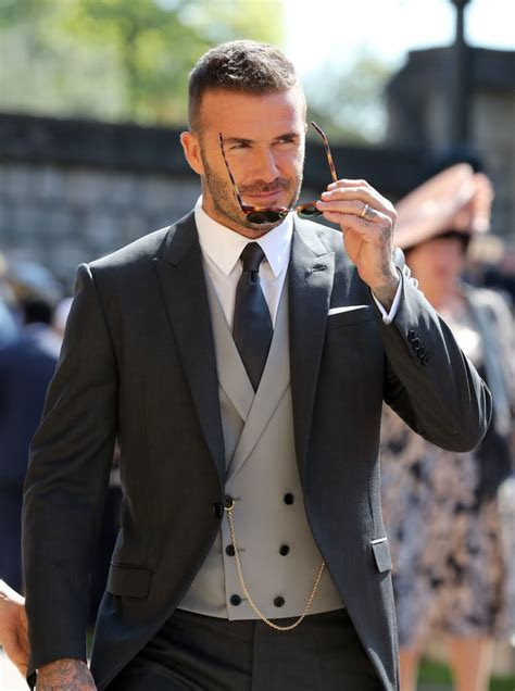 David Beckham at Royal Wedding 2018 Pictures   POPSUGAR