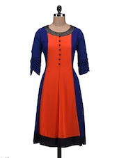 Blue Georgette Anarkhali Kurta