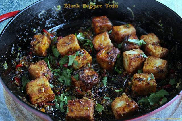 Black Pepper Tofu 3