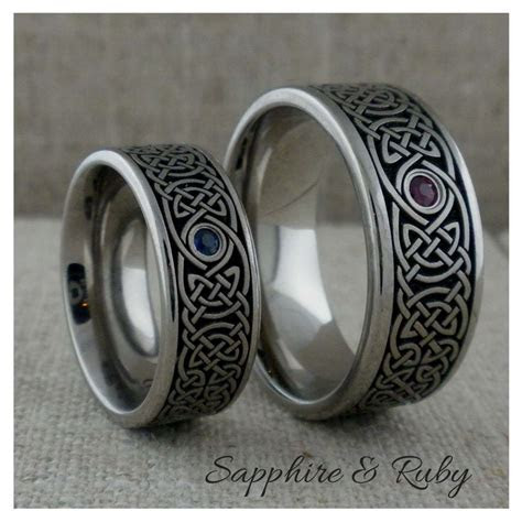 17 Best ideas about Titanium Wedding Rings on Pinterest