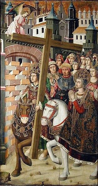File:Bernat, Martin Saint Helena & Heraclius taking the Holy Cross to Jerusalem.jpg