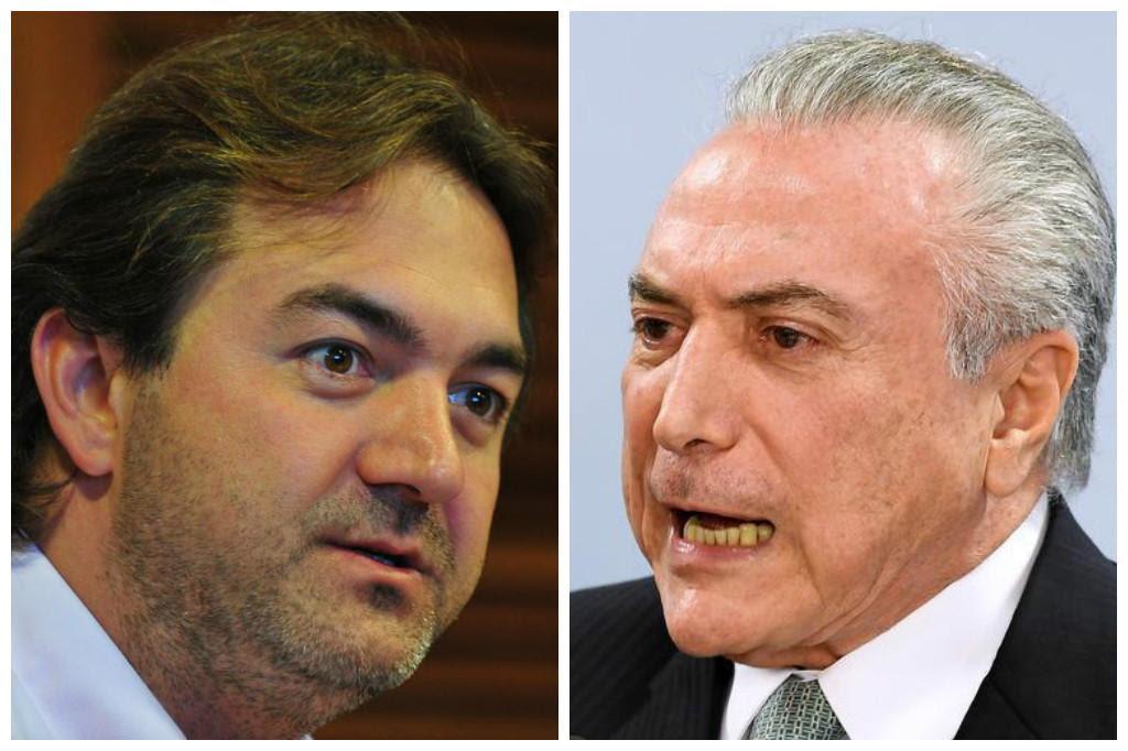 Piloto de voo que levou família de Temer à Bahia confirma versão de Joesley Agência RBS / AFP/AFP