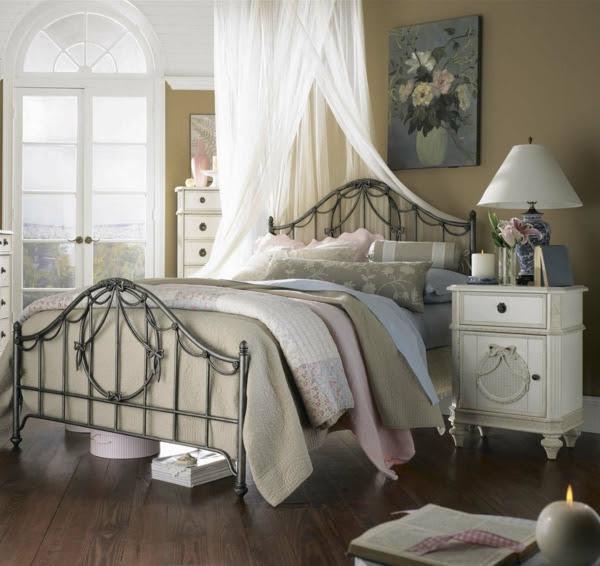 Vintage Schlafzimmer - Ideen für die Schlafzimmergestaltung