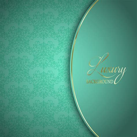 Elegant blue background with ornaments Vector   Free Download