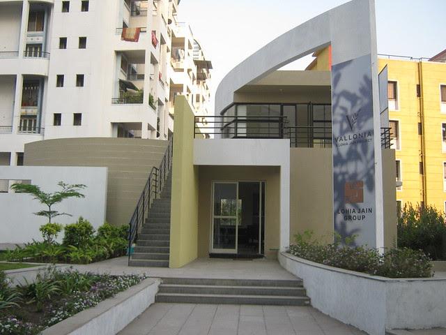 Sales Office of Lohia Jain Group's Riddhi Siddhi, 2 BHK & 3 BHK Flats at Bavdhan Khurd, Pune 411 021