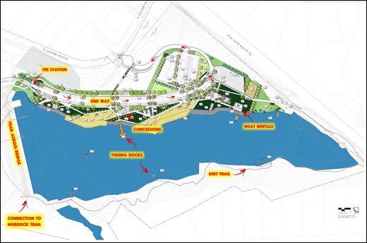 Dry Creek Lake Full Map