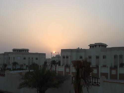 Sunrise from ECCH bridge