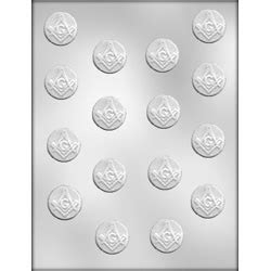 Masonic Mint Chocolate Candy Mold   90 12503   Country