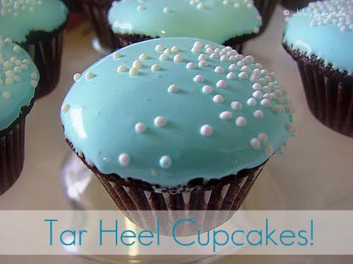 Tar Heel Cupcakes (edited)