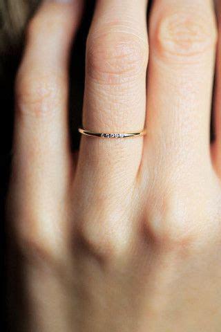 1000  ideas about Thin Diamond Band on Pinterest   Simple