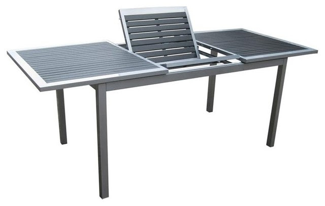 Kontiki Butterfly Artwood Extendable Patio Dining Table ...