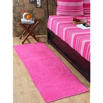pas cher homescapes tapis de couloir uni chenille. Black Bedroom Furniture Sets. Home Design Ideas