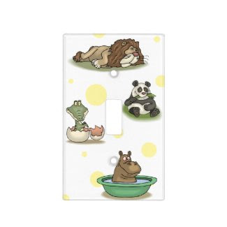 Zoo Animals Light Switch Cover
