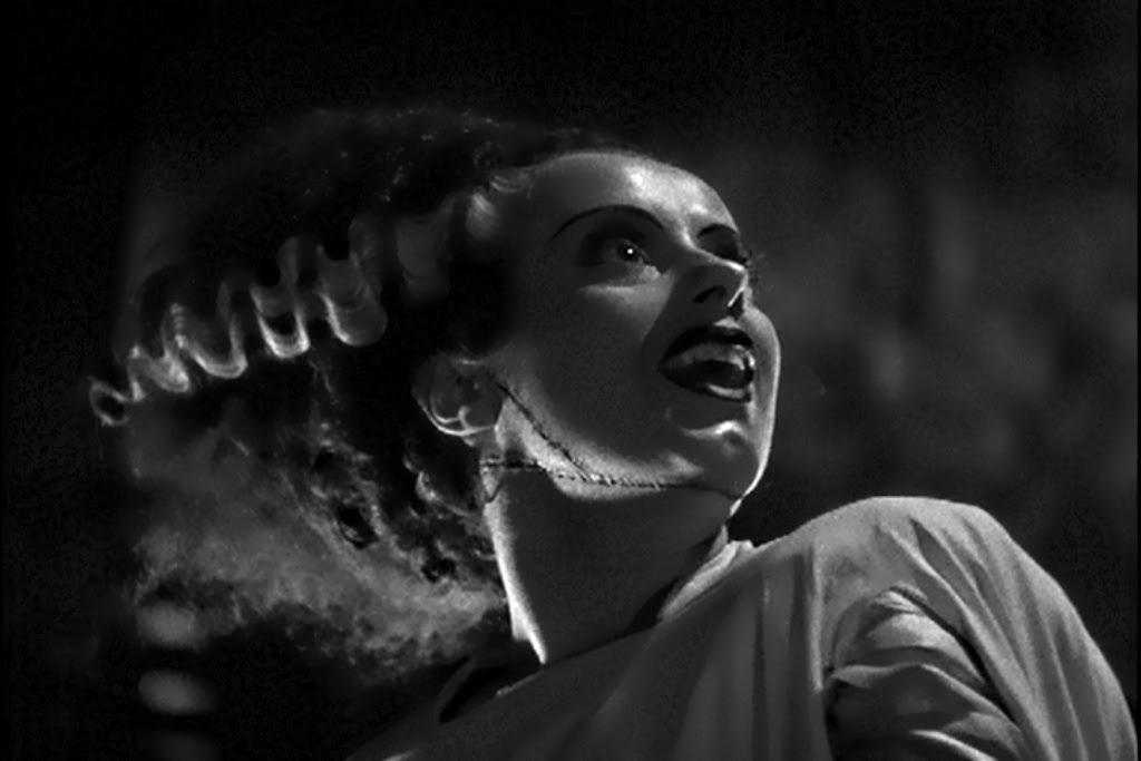 Bride of Frankenstein Elsa Lanchester Monster