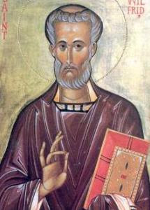 Saint Wilfrid d'York († 709)