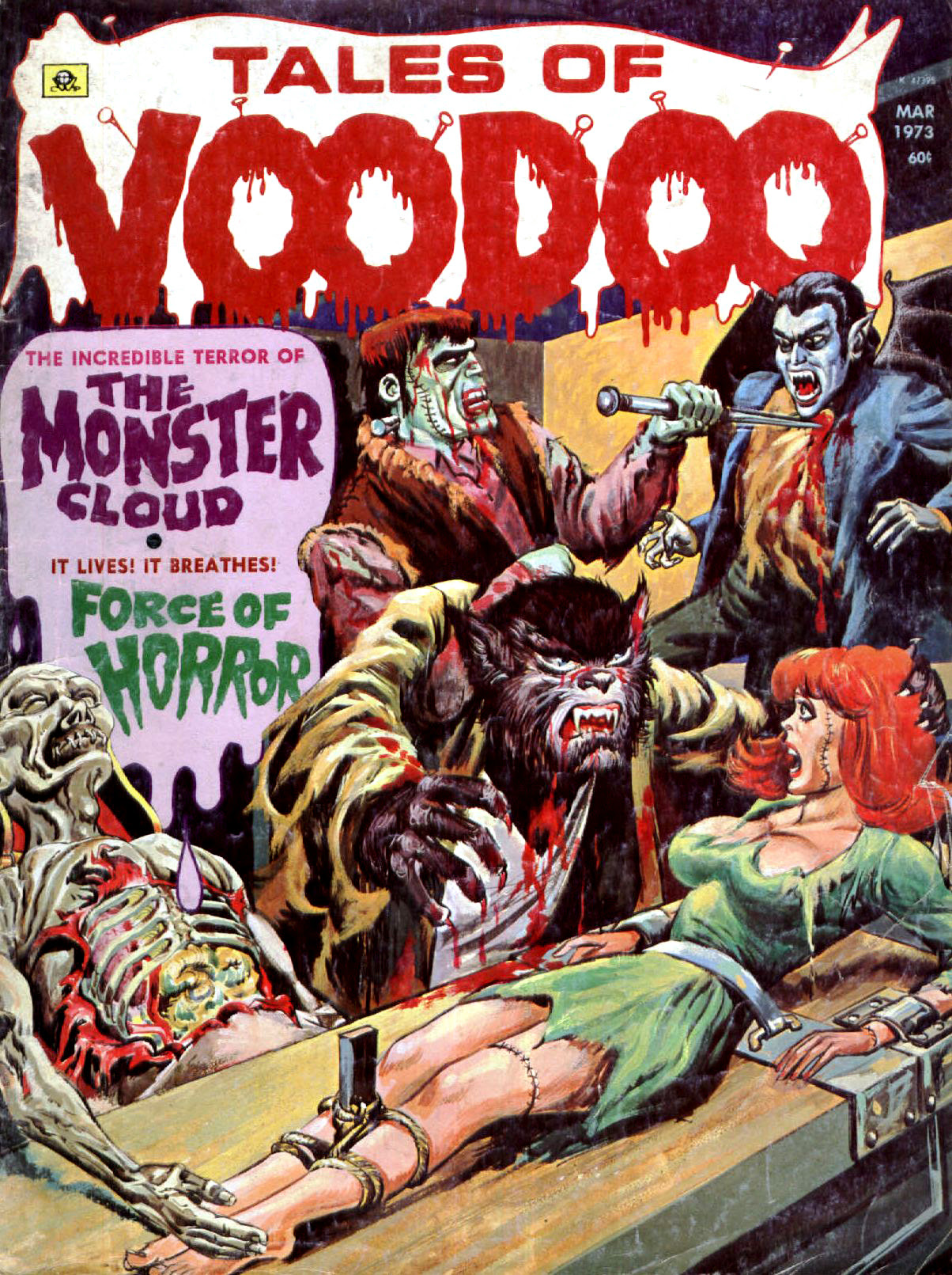 Tales of Voodoo Vol. 6 #2 (Eerie Publications 1973)