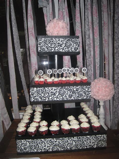 DIY Cupcake stand! Great for any Bridal Shower