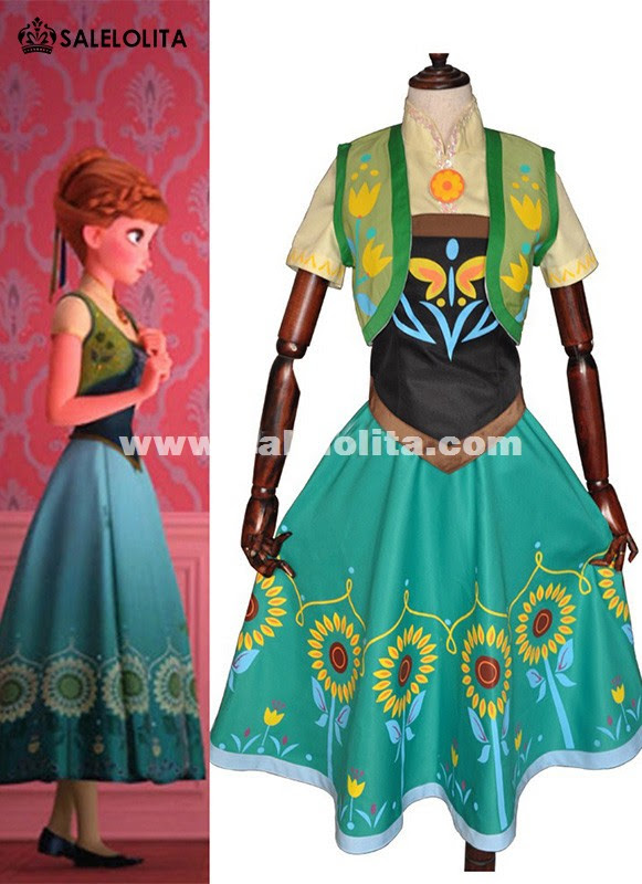 customized anna birthday party dress adult princess anna