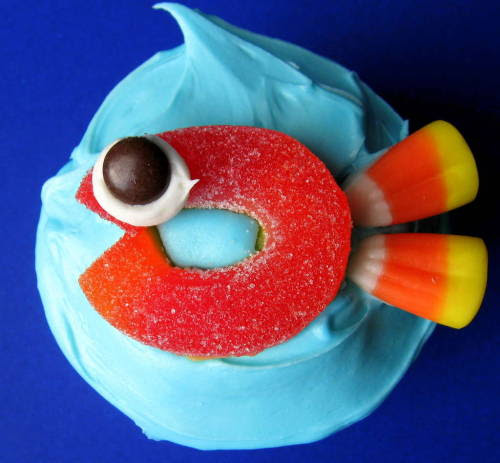 gossipchef:  Fish Cupcake