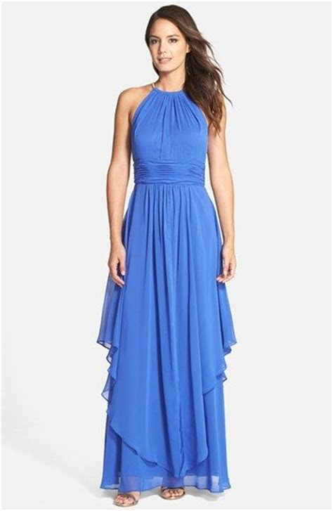 Mother of the Bride Dresses for a Beach Wedding   Cobalt