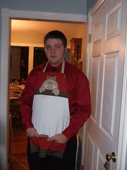 Thadd in apron